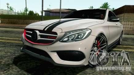 Mercedes-Benz C250 AMG Brabus Biturbo Edition для GTA San Andreas