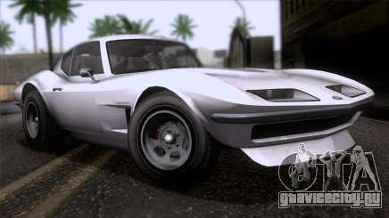 GTA 5 Invetero Coquette Classic HT SA Mobile для GTA San Andreas