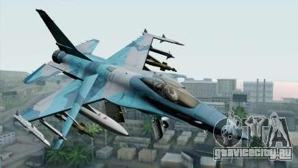 F-16C Fighting Falcon NSAWC Blue для GTA San Andreas