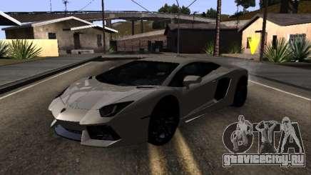 Lamborghini Aventador Tron для GTA San Andreas
