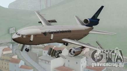 DC-10-30 Garuda Indonesia для GTA San Andreas
