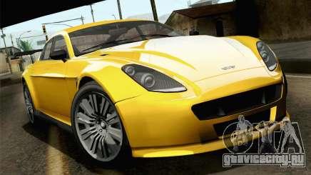 GTA 5 Dewbauchee Exemplar для GTA San Andreas