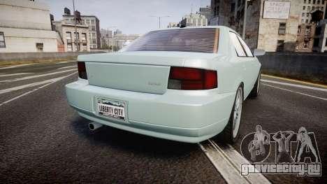 Max Payne 3 Iemanja LX для GTA 4 вид сзади слева