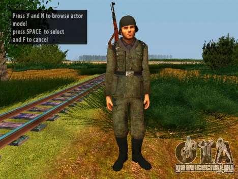 Немецкие солдаты для GTA San Andreas