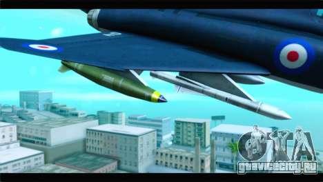 McDonnell Douglas F-4E RAF для GTA San Andreas вид справа