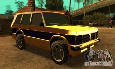 Luni Huntley для GTA San Andreas вид сзади слева