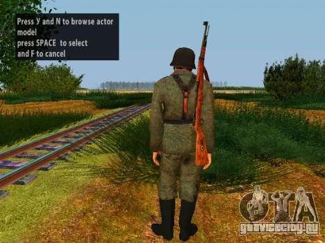 Немецкие солдаты для GTA San Andreas седьмой скриншот