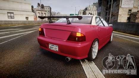Dinka Chavos SXX для GTA 4 вид сзади слева