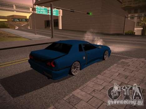 Elegy GunkinModding для GTA San Andreas вид сзади слева