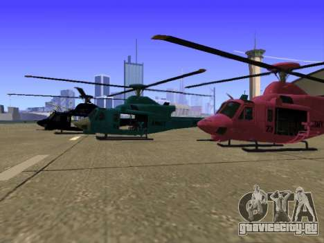 GTA 5 Valkyrie для GTA San Andreas салон