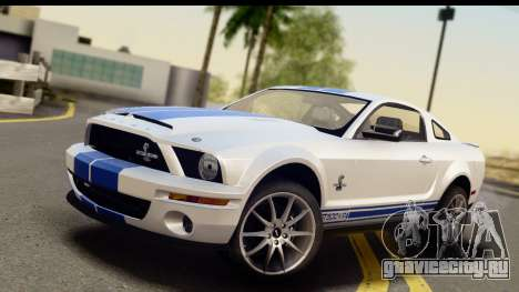 Ford Mustang Shelby GT500KR для GTA San Andreas