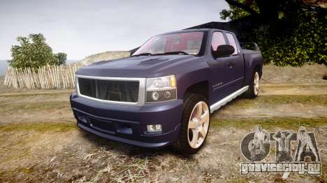 Chevrolet Silverado 1500 LT Extended Cab wheels2 для GTA 4