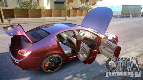 Maserati Ghibli 2014 v1.0 для GTA 4 вид сверху