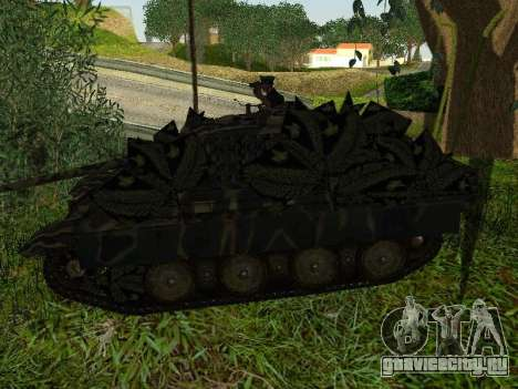 Panther для GTA San Andreas двигатель
