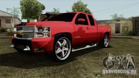 Chevrolet Silverado Tuning для GTA San Andreas