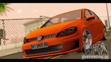 Volkswagen Golf GTI 2014 для GTA San Andreas