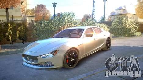 Maserati Ghibli 2014 v1.0 для GTA 4