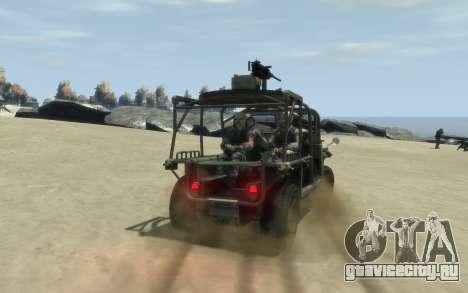 M1161 Growler для GTA 4 вид слева