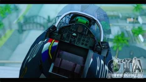 McDonnell Douglas F-4E RAF для GTA San Andreas вид сзади