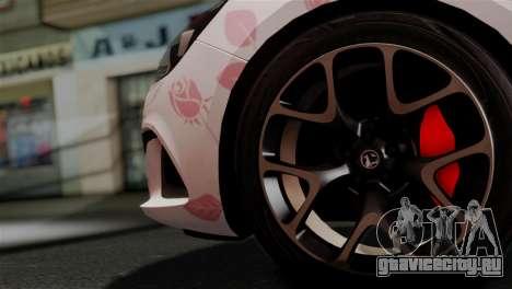 Vauxhall Astra VXR 2012 Itasha для GTA San Andreas вид справа