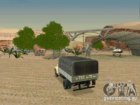 ГАЗ 3309 для GTA San Andreas вид сверху