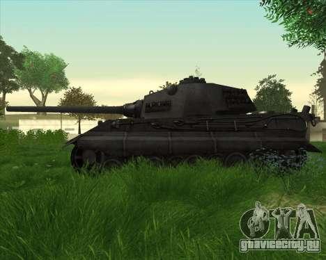 E-75 Tiger III для GTA San Andreas вид слева