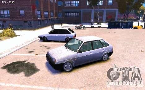 ВАЗ 2109 для GTA 4 вид справа