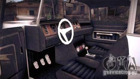 GTA V Declasse Tornado для GTA San Andreas вид справа