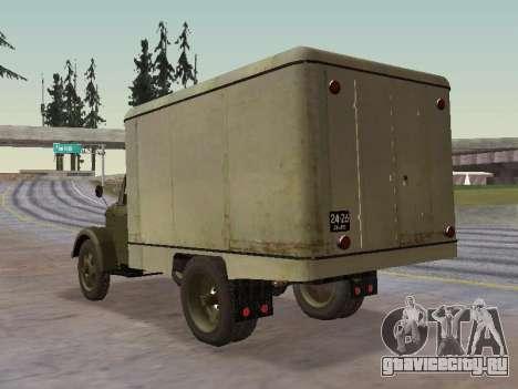 ГАЗ 51 Внешторг для GTA San Andreas вид сзади слева