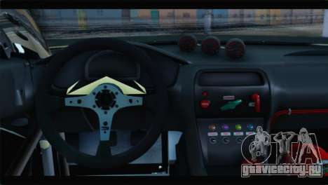 Nissan Silvia S14 Zenki Falken для GTA San Andreas вид сзади слева