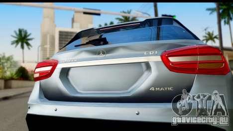 Mercedes-Benz GLA220 2014 для GTA San Andreas вид справа