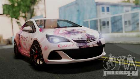 Vauxhall Astra VXR 2012 Itasha для GTA San Andreas