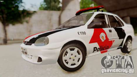 Chevrolet Corsa 2000 PMESP для GTA San Andreas