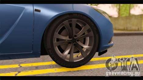 Opel Insignia Wagon для GTA San Andreas вид сзади слева