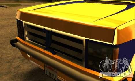 Luni Huntley для GTA San Andreas вид снизу