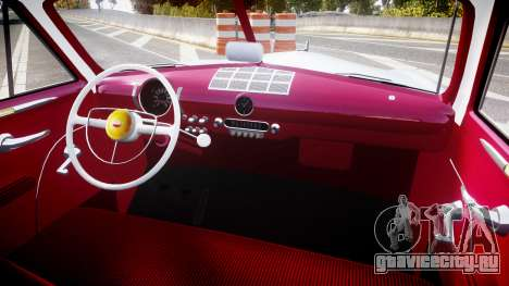 Ford Custom Club 1949 v2.2 для GTA 4 вид сзади