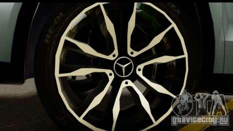 Mercedes-Benz GLA220 2014 для GTA San Andreas вид сзади