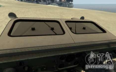 M1161 Growler для GTA 4 вид справа