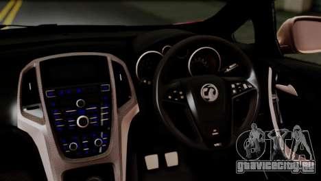 Vauxhall Astra VXR 2012 Itasha для GTA San Andreas вид сзади