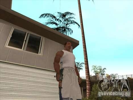 Русские пистолеты-пулемёты для GTA San Andreas шестой скриншот
