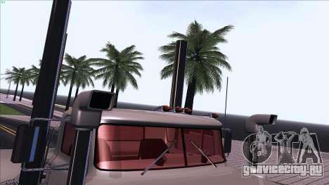 Mack RS700 Custom для GTA San Andreas вид сверху