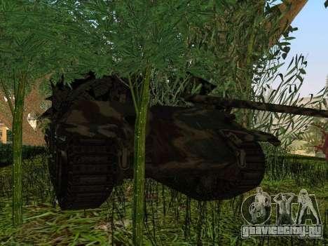 Panther для GTA San Andreas вид снизу