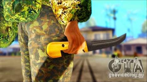 Шашка казачья для GTA San Andreas третий скриншот