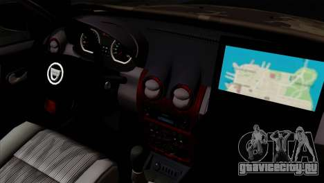 Dacia Duster Army Skin 4 для GTA San Andreas вид справа