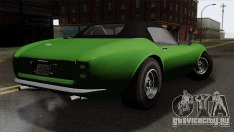 GTA 5 Grotti Stinger v2 SA Mobile для GTA San Andreas вид слева