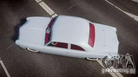 Ford Custom Club 1949 v2.2 для GTA 4 вид справа