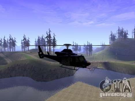 GTA 5 Valkyrie для GTA San Andreas вид слева