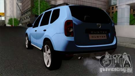 Dacia Duster 2014 для GTA San Andreas вид слева