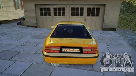 Opel Calibra v2 для GTA 4 вид справа