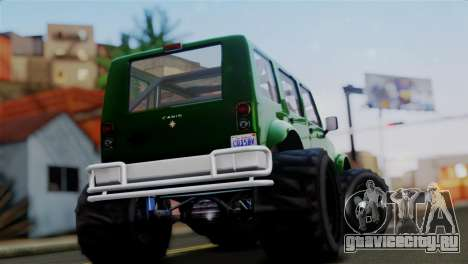 GTA 5 Canis Mesa Merryweather IVF для GTA San Andreas вид сзади слева